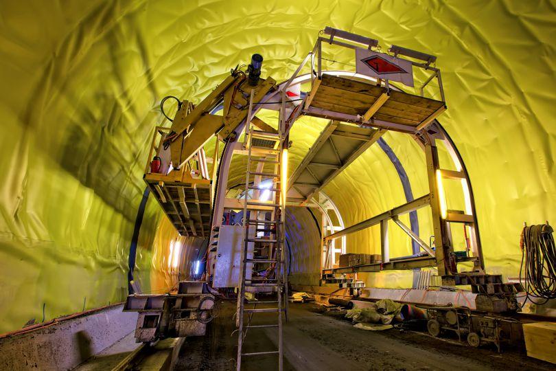Хидроизолация на тунел