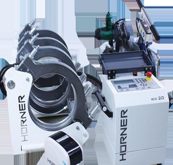 Машина за челно заваряване Hurner 160 mm WeldControl