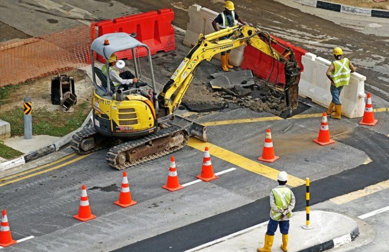 пътно-строителни машини